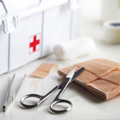 Zestaw wyrobów medycznych.